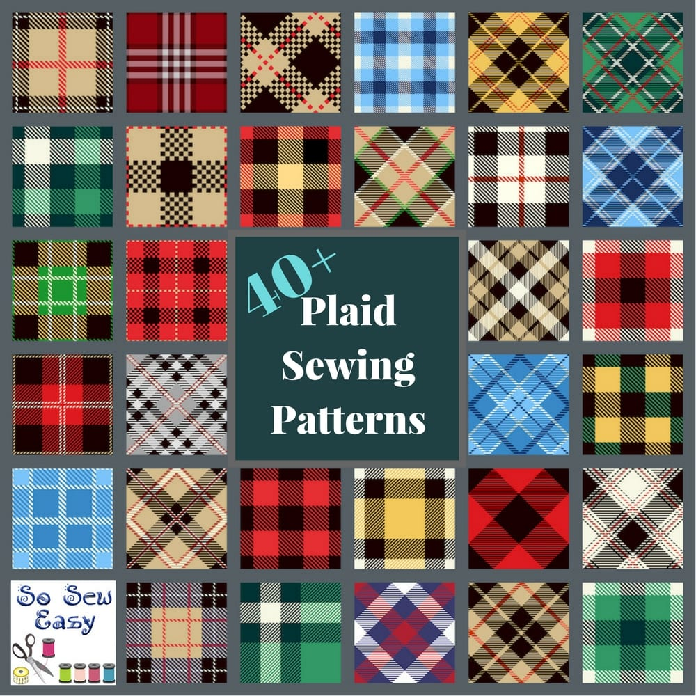 Plaid Sewing Patterns