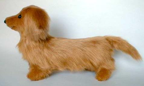 stuffed dog