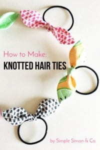 Knotted Hair Ties