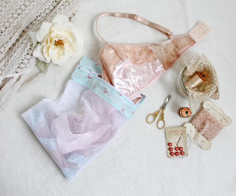 Lingerie Travel and Wash Bag
