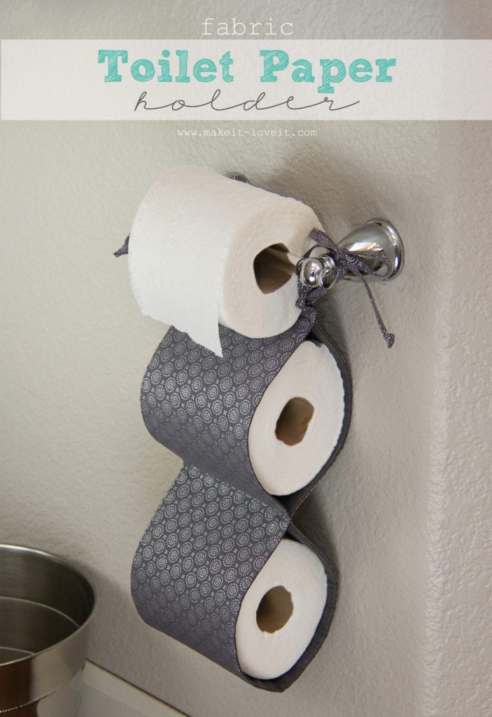 Charming Toilet Paper Holder Ideas