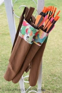 Archery Quiver Free Pattern