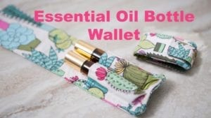 Essential Oil Bottle Wallet