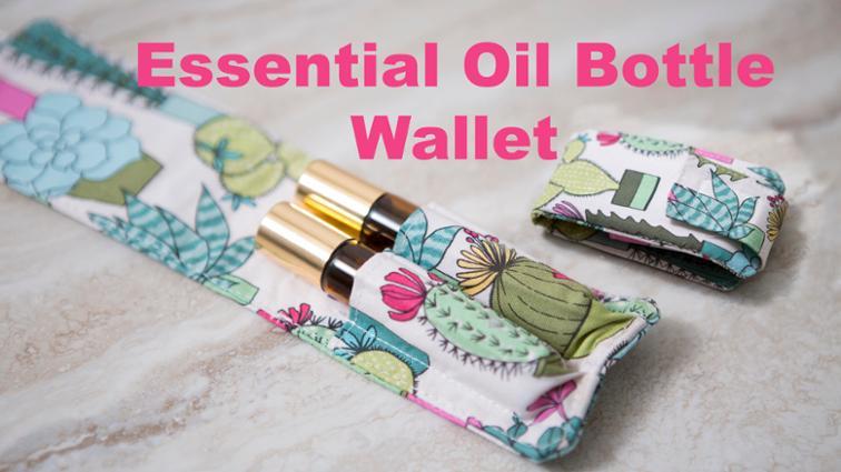 Essential Oil Bottle Wallet