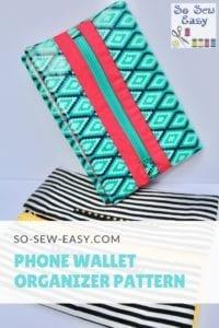 Phone Wallet Organizer Pattern