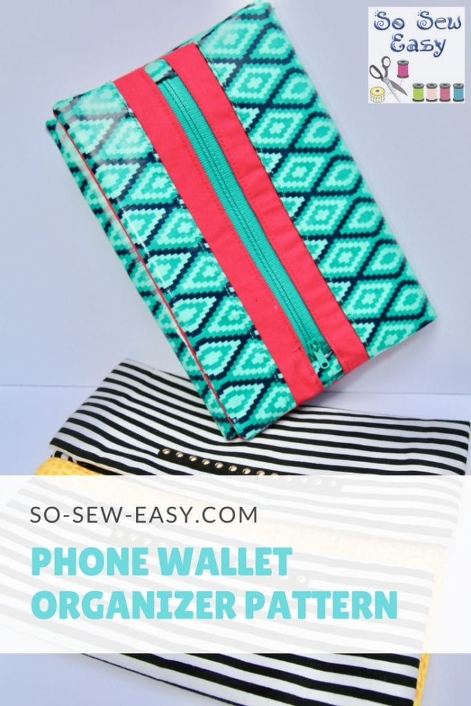 Phone Wallet Organizer Pattern