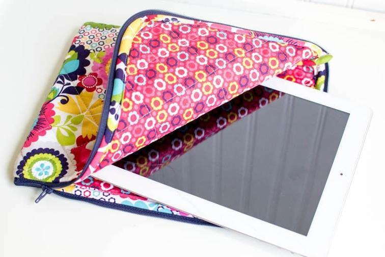 Quilted iPad Case
