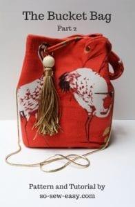 Bucket Bag Tutorial