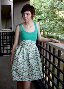 High Waisted Dress