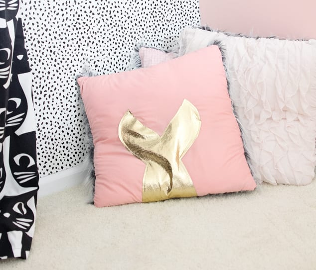 Mermaid Tail Pillow
