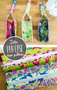 Zola Pen Case FREE Sewing Pattern