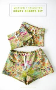 Mother and Daughter Comfy Shorts