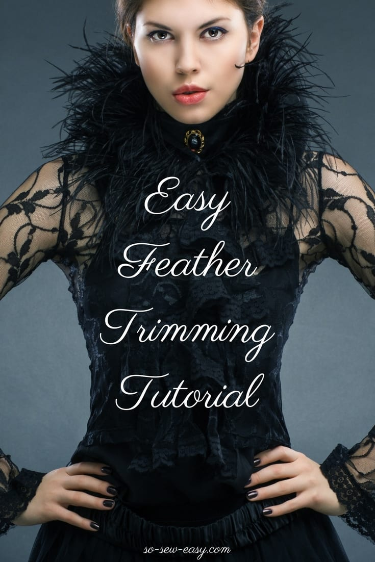 Feather Trimming Tutorial