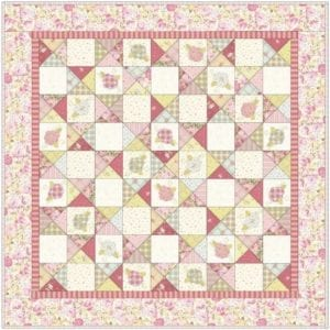Flowers for Georgia FREE Quilt