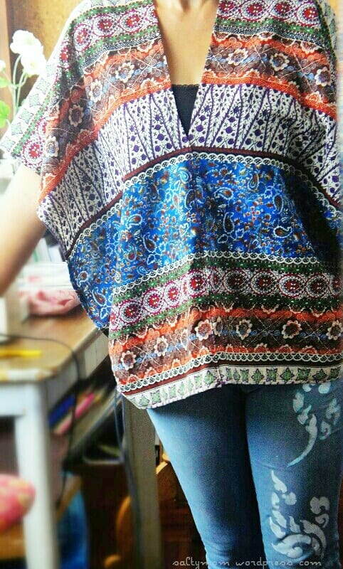 Poncho Free Sewing Tutorial