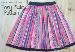 FREE Easy Skirt Pattern