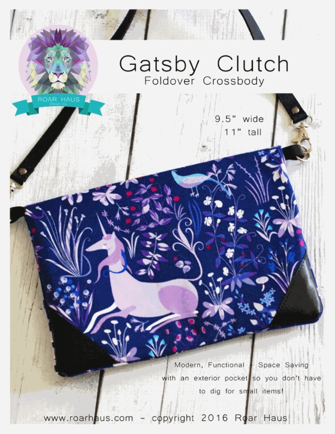 Gatsby Clutch FREE Sewing Tutorial