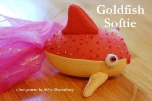 Goldfish Free sewing pattern