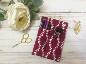Hanging Bulletin Board Pencil Pouch