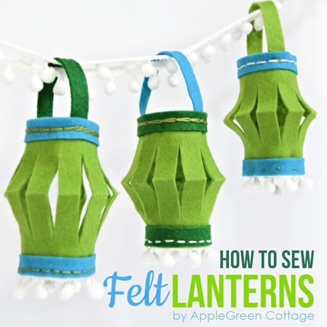 Lanterns FREE Sewing Tutorial