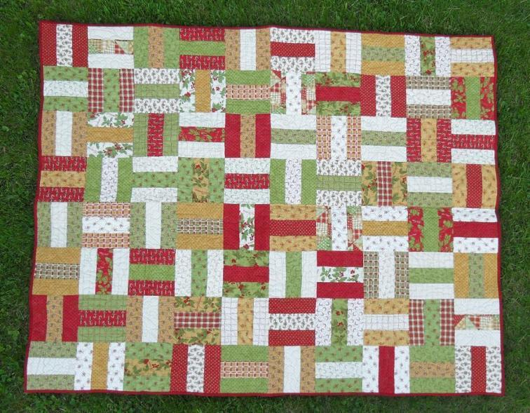 Off the Rails Free Quilt Pattern