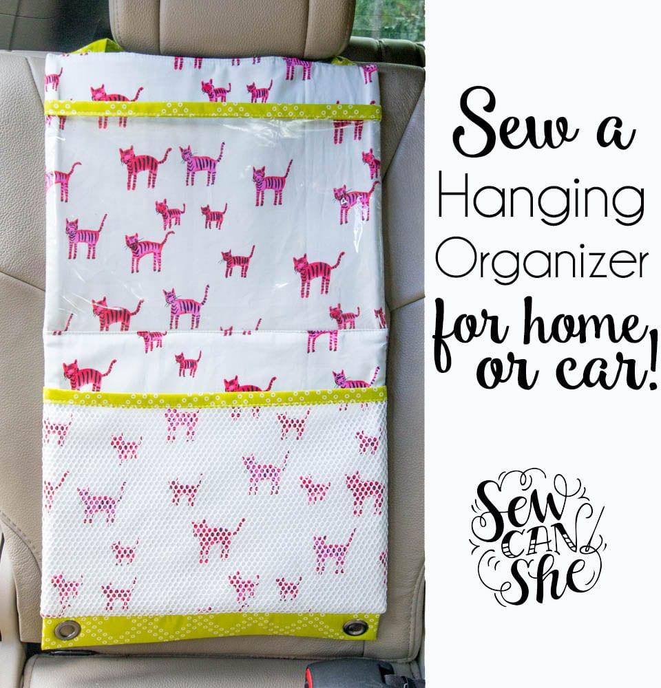 Sew a Hanging Organizer