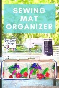 Sewing Mat Organizer Pattern