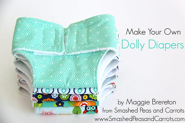 Dolly Diaper Sewing Tutorial