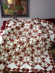 Plenty of fish free quilt tutorial