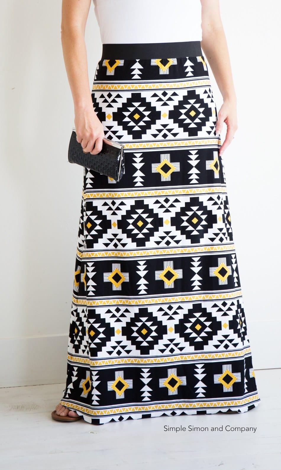 Maxi Skirt Free Pattern