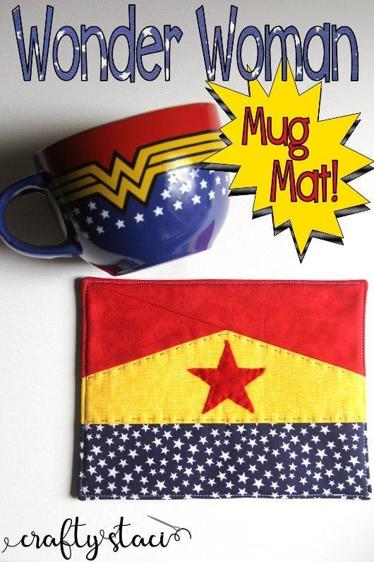 Wonder Woman Mug Mat