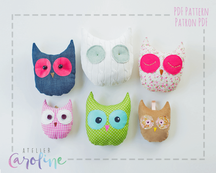Decorative Owl Free Sewing Pattern And Tutorial Sewing 4 Free