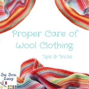 Proper Care of Wool Clothing