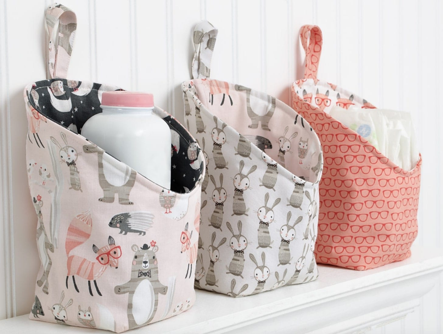 Storage Pods FREE Sewing Pattern