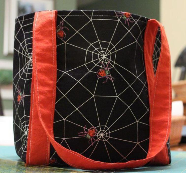 Halloween Bag FREE Sewing Tutorial