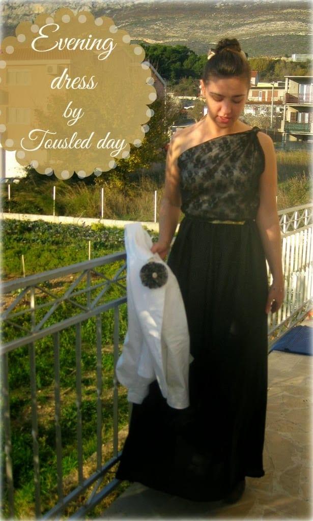 DIY evening dress