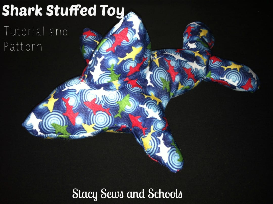 Shark Toy FREE Pattern