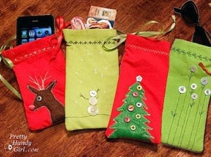 DIY Mini Gift Pouches