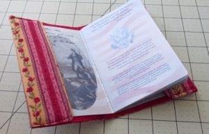 Passport Cover Holder