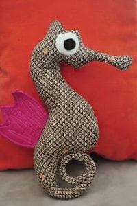 Seahorse Plush FREE Sewing Pattern