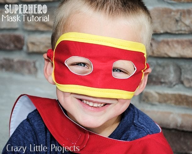 Superhero Mask Free Pattern
