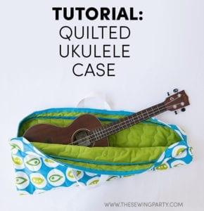 Ukulele Case Free sewing tutorial