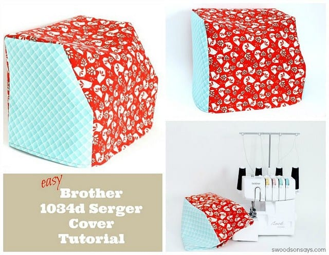 Brother 1034d Serger Cover