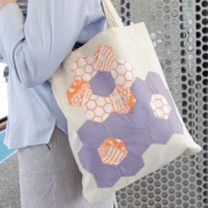 Quilted Flower Tote