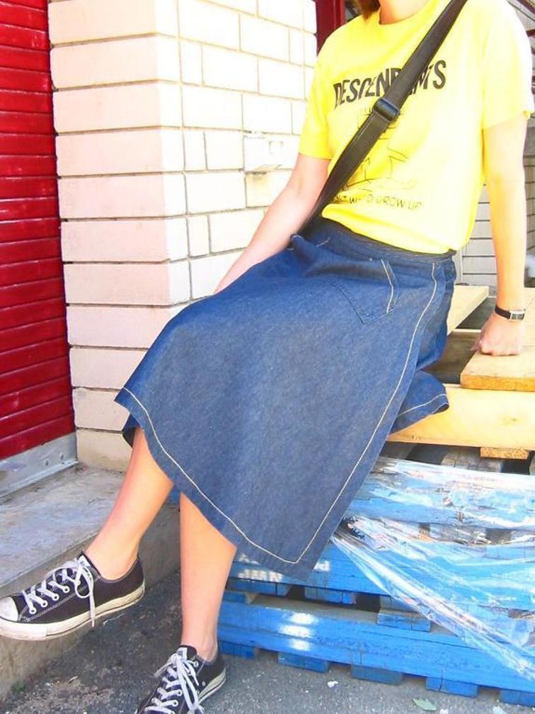 Dana Wrap Skirt FREE Sewing Pattern