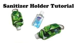 hand sanitizer holder free pattern