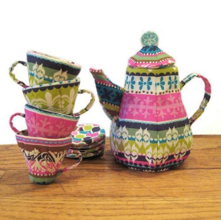 Tea Set FREE Sewing Pattern