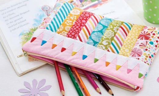 Patchwork Pencil Case
