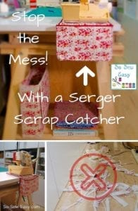 Serger Scrap Catcher