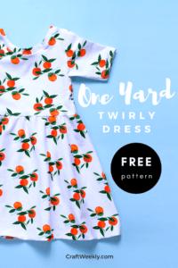 Twirly Dress Free sewing pattern